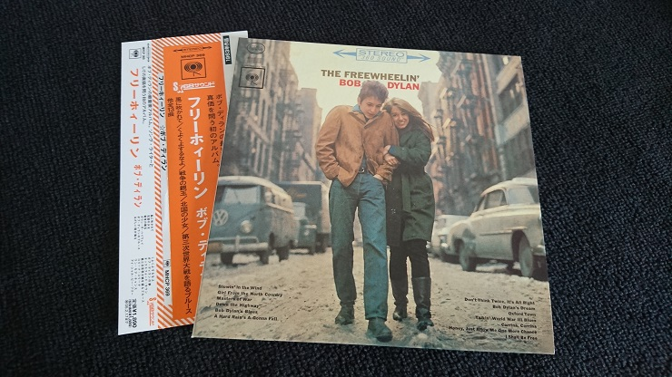 BOB DYLAN The Freewheelin' Bob Dylan 紙ジャケットCD