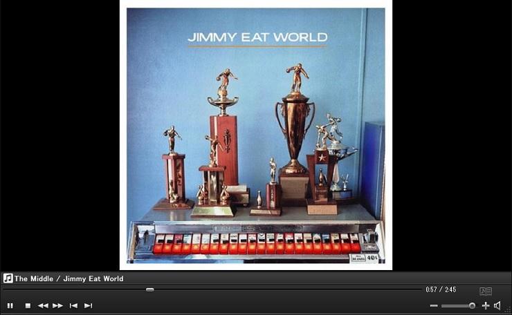 JIMMY EAT WORLD Bleed America CD