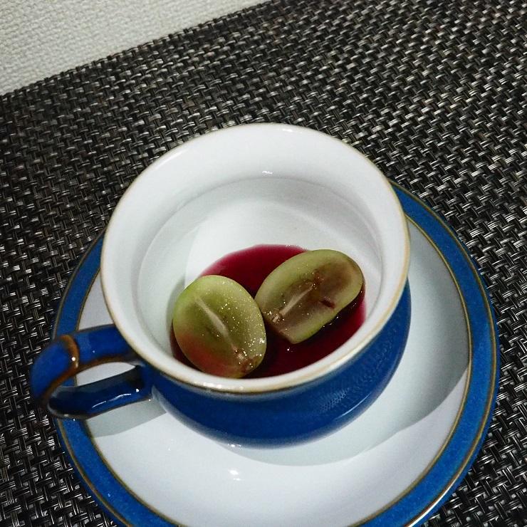 紅茶アレンジ(マスカット、ワイン)