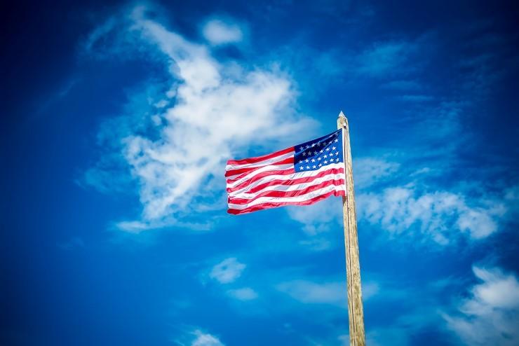 アメリカ合衆国 USA 星条旗