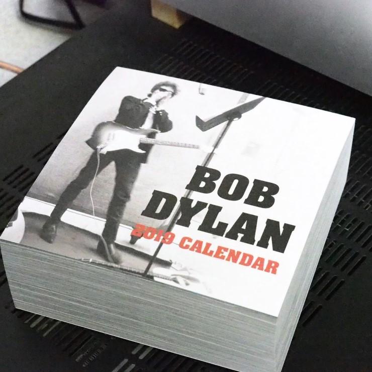Bob Dylan ボブ・ディラン 日めくり「リリック」カレンダー