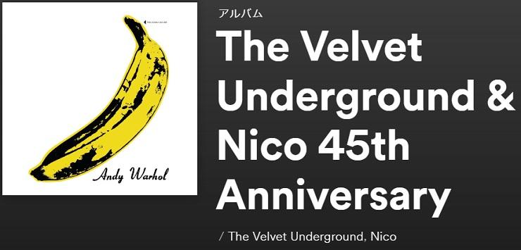 THE VELVET UNDERGROUND The Velvet Underground and Nico