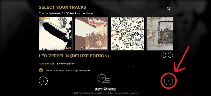 Led Zeppelin レッド・ツェッペリン・プレイリスト・ジェネレーター
