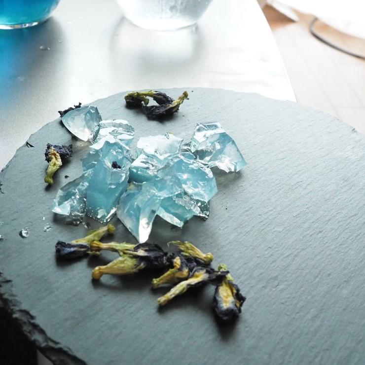 アバイブーベ ABHAIBHUBEIHR バタフライピー Butterfly Pea 琥珀糖