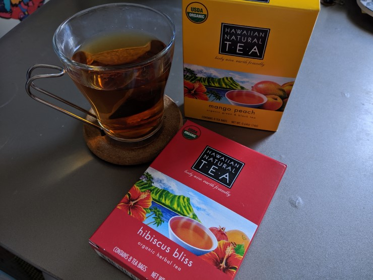Teachest HAWAIIAN NATURAL TEA