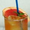 紅茶アレンジ 果肉ゴロゴロ グレフルアイスティー