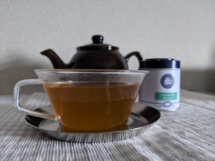 The 1872 Clipper Tea Co. 1872クリッパーティー ストロベリードリーム