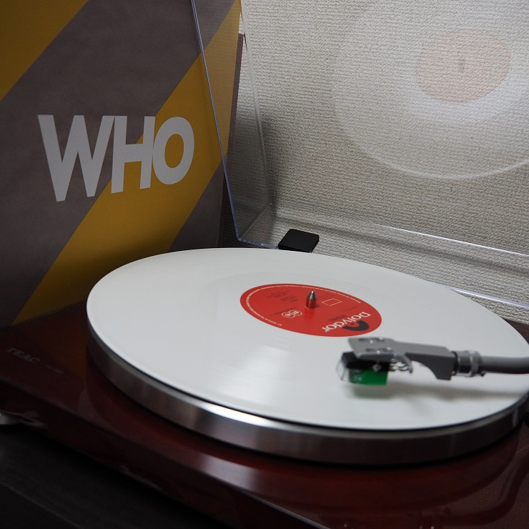 THE WHO album WHO レコード