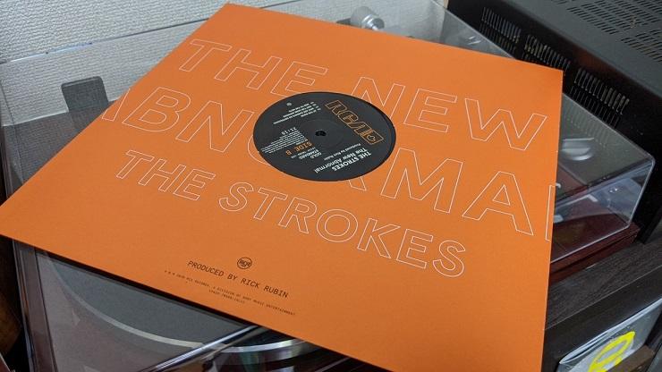 開封 洋楽 レコード The New Abnormal THE STROKES