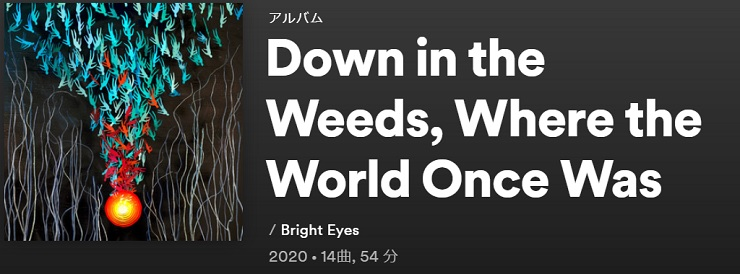 BRIGHT EYES Down In The Weeds, Where The World Once Was