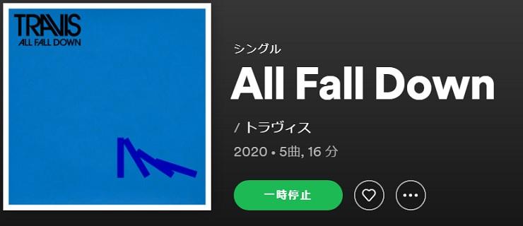 TRAVIS All Fall Down single