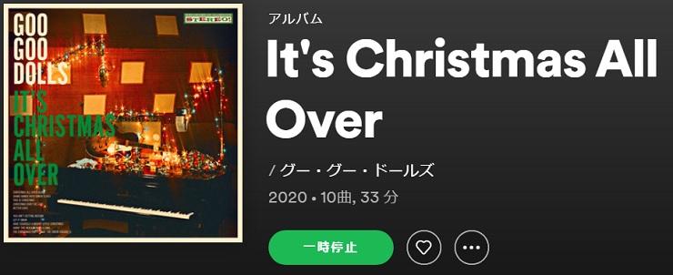 GOO GOO DOLLS It's Christmas All Over
