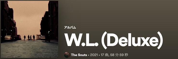 THE SNUTS W.L. 2021